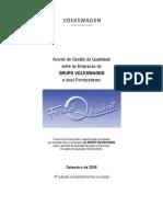 Acordo de Gestão de Qualidade VW - 4ª Edição - Setembro - 2008