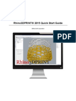 Rhino3DPRINT® 2015 Quick Start Guide