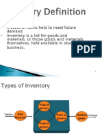 Inventory Control With Case Study
