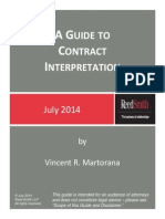 A Guide to Contract Interpretation July 2014