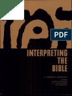 Berkeley, M. Interpreting the Bible