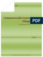 Second Report of Commonwealth Games Village
