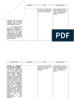 PFM Act IRR Analysis