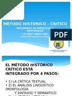 1 Metodo Historico - Critico