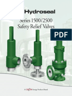 Hydro SafetyReliefValves Series15002500