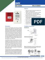 Mircom MH25R Data Sheet