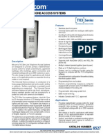 Mircom TX310004U Data Sheet