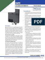 Mircom TX3-CX-2K-A Data Sheet