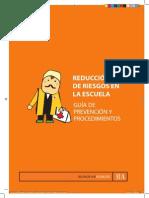 Manual de Primeros Auxilios Para Escuelas