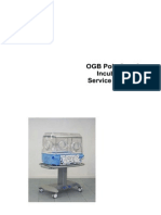 Ginevri OGB PolyCare 3 Incubator - Service Manual