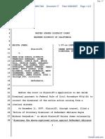 Jones v. Kern High School District et al - Document No. 17