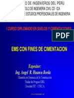 Expo Disec3b1o de Cimentaciones