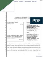 Adkins v. Panish et al - Document No. 3