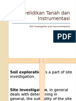 Penyelidikan Tanah Dan Instrumentasi 3