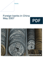 Foreign Banks in China