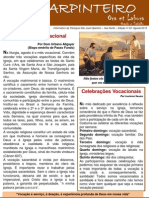 3ª Informativo PSJO - O Carpinteiro