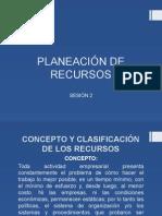 Planeación de Recursos