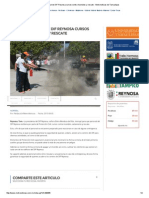 08-05-2015 Recibe Personal de DIF Reynosa Cursos Contra Incendios y Rescate