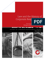 Corporate Law and History of CR - Johnson Working Paper - Final