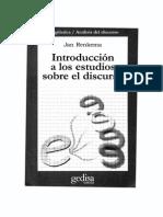 Renkema J. Introducción a Los Estudios Sobre El Discurso