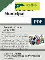La Autonomía Municipal