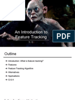 AI Final Presentation- An Introduction to Feature Tracking