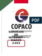 Catalogo de Servicios de Internet COPACO