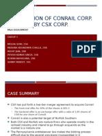 Conrail Acquisition Case_Group 3