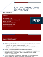 Conrail Acquisition Case_Group 3