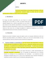 PROTOCOLO DE ABORTO - HOSPITAL LOCAL DEL NORTE