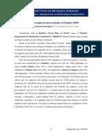 Caso Practico - Las Mejores Empresas Para Trabajar en España 2010