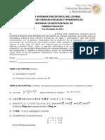 1era Evaluacion Dic 2014