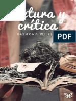 Williams, Raymond (1958) - Lectura y Crítica (1)
