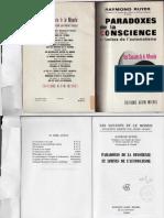 Raymond Ruyer, Les Paradoxes de la conscience, PDF