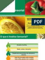 Aula Análise Sensorial Gastronomia