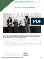 Les collégiens, jurés du festival de cinéma Travelling _ Département Ille et Vilaine