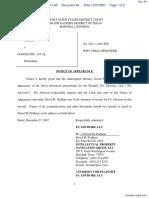 PA Advisors, LLC v. Google Inc. et al - Document No. 48