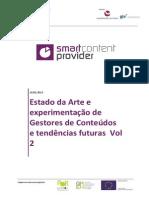 QREN SmartCP Estado Da Arte e Experimentação de CMS e Tendências Futuras Vol2 1.1