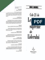 John Maxwell - Cele 21 de Legi Supreme Ale Liderului OCR 3