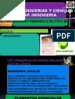 ley de gobiernos regionales