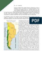 Delimitación de Las Fronteras Con Argentina