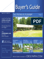 Coldwell Banker Olympia Real Estate Buyers Guide August 8th 2015