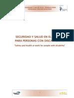 Seguridad y Salud en El Trabajo Para Personas Con Discapacidad