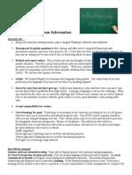 general guidelines ii