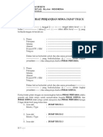 Contoh Surat Perjanjian Sewa Dump Truk FH UII