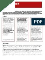 Kasich #GOPDebate Fact Sheet