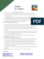 Cómo Tomar Apuntes en Clase