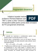 Metoda Programarii Dinamice