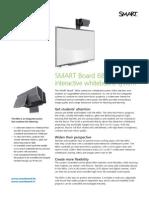 Factsheet SMART Board 685ix educatie DE