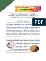 Boletin 3 Signos Del Buen Vivir 6 de Agosto de 2015